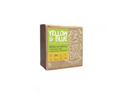 843 yellow blue olivove mydlo na skvrny s citron extraktem 200 g