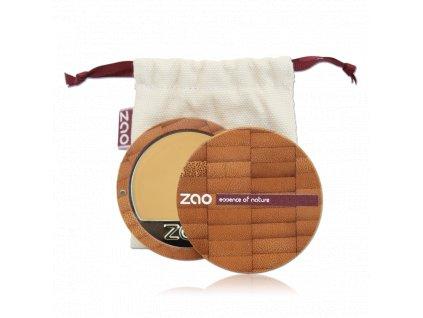 8963 1 zao kompaktni make up 730 ivory 6 g bambusovy obal