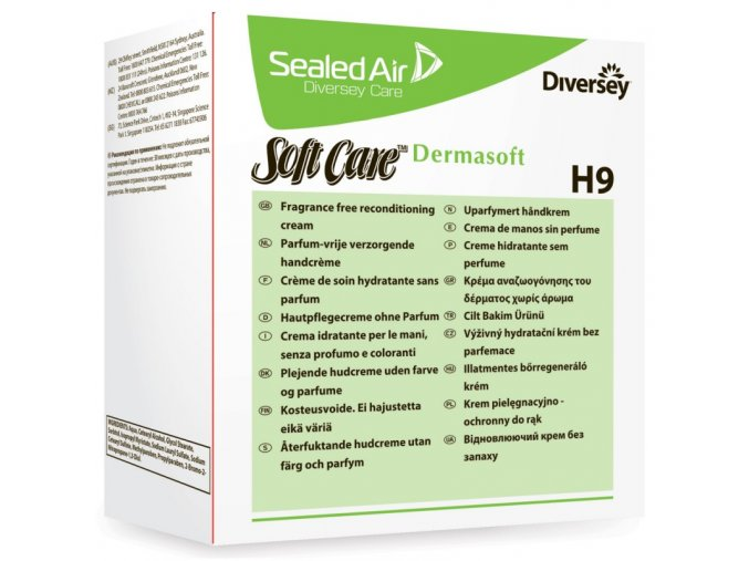 diversey soft care dermasoft h9 800ml 1x6