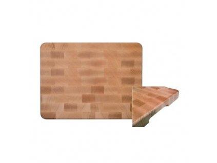PGX 2005 471 Deska řeznická dřevěná 450 x 350 x 40