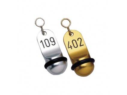 PGX 2005 789 Přívěsek na klíče Mini stříbrná