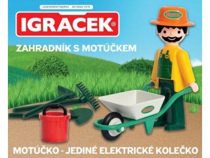 BRAVOIgráček - Zahradník s Motúčkem