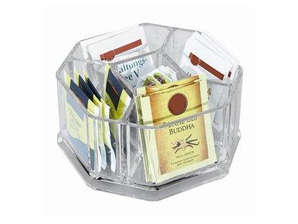 PGX 2470 160 Box na čaj 5 přihrádek dělený 16 x 16 x 8