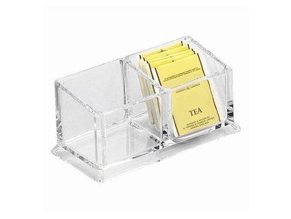 PGX 2470 165 Box na čaj 2 přihrádky dělený 16,6 x 8,2 x 7,5 cm