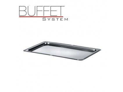 PGX 2935.L Buffet system - nerezový podnos s ozdobným okrajem nerez 18/0