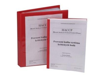 PGX 3015 002 Provozní kniha systému HACCP velká v šanonu + zaškolení