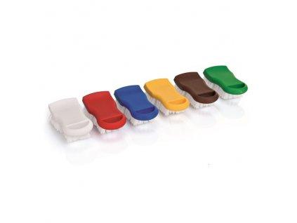 PGX 3305 153 Kartáče čistící na krájecí desky a kuchyňské plochy žlutá