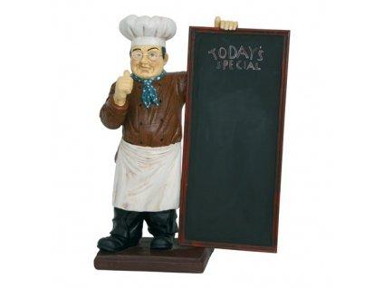 PGX 4315 110 Tabule nabídková s kuchařem 110