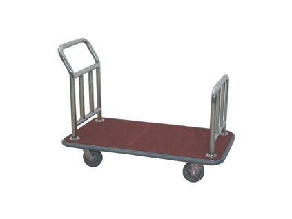 PGX 4425 012 Plošinový nerezový vozík 110 x 62 cm