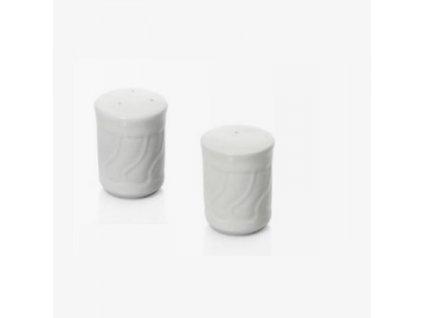 PGX 4744 001 Slánka a pepřenka zdobený porcelán slánka