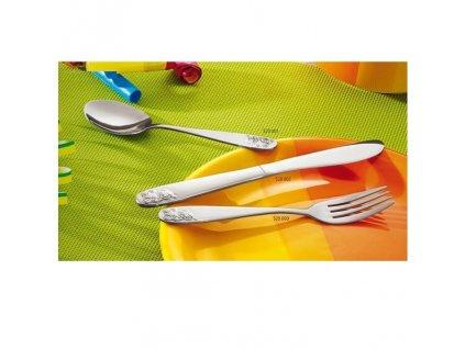 PGX 0520 002 Dětský příbor Medvídek nůž jídelní