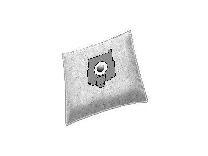 EL micro Z-BAG 1.1/Sáčky 4+1 text. Zelme
