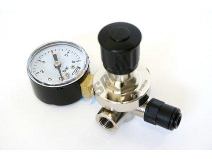 LINDR Redukční ventil CO2 mini