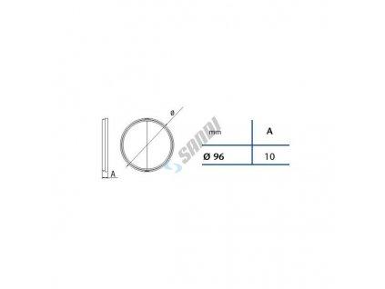 CATA 0969 klapka 100 mm