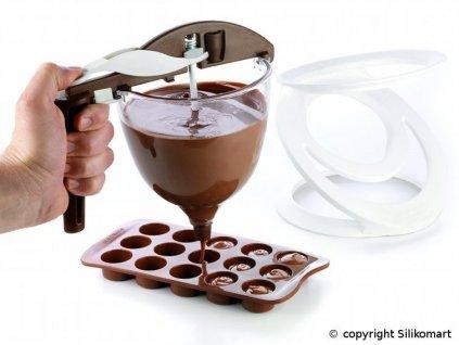 SILIKOMART SLM-259050063 Sada na čokolád