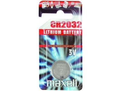 MAXELL CR2032 baterie knofl. nenab. 1ks