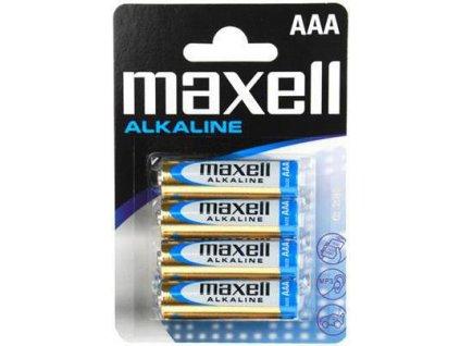 MAXELL AAA baterie Alkaline 4ks
