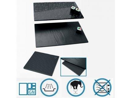 PGX 9590 170 Bufetové plato GN oboustranné  melamin silikonová podložka