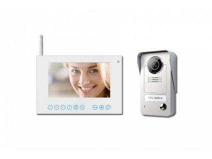 """OPTEX 990290 Bezdrátový barevný 7 bezsluchátkový videotelefon"""""""