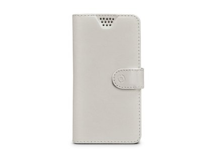 "Pouzdro na mobil flipové Celly Wally Unica, XL, 4.5 - 5"" - bílé"""