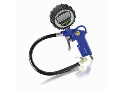 Plnič pneumatik s digitálním manometrem