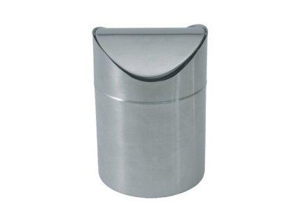 PGX 1531 001 Odpadkový stolní koš nerez 12 x 17 cm