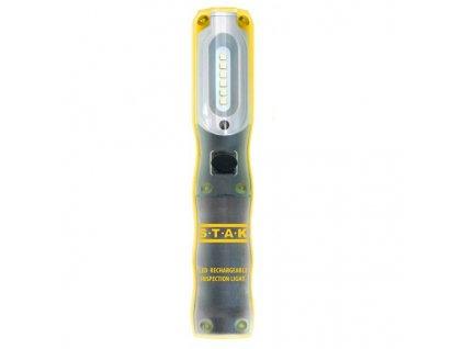 VELAMP ruční dobíjecí pracovní 3W + 2W SMD LED svítilna IS409