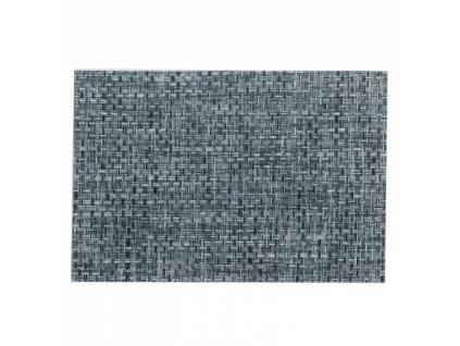 Prostírání PLATO, polyvinyl, černé/bílé 45x30cm KELA KL-15644
