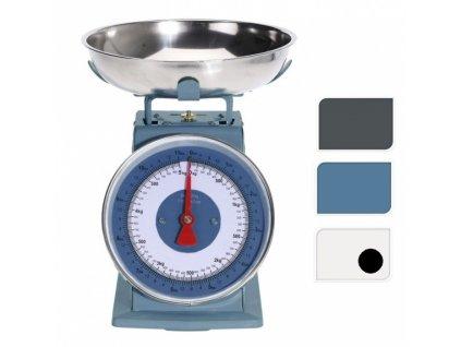 Váha kuchyňská 5 kg RETRO bílá