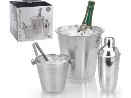 Chladič na víno a šampaňské sada 4 ks EXCELLENT KO-A12401030