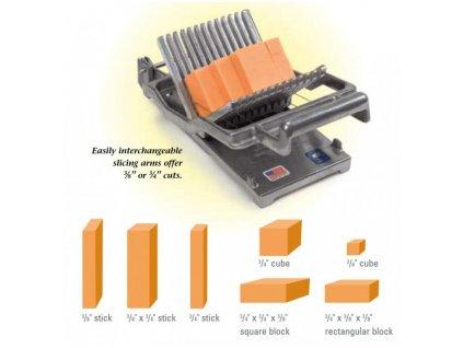 NEMCO BRC-N55300A2  Kráječ měkkých a polotvrdých sýrů Nemco Easy cheeser 10 a 19 mm