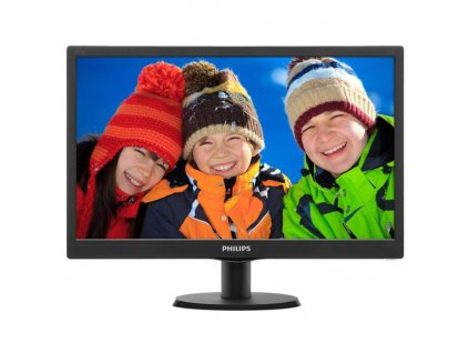 "Monitor Philips 193V5LSB2 18.5,LED, TFT, 5ms, 700:1, 200cd/m2, 1366 x 768,"""