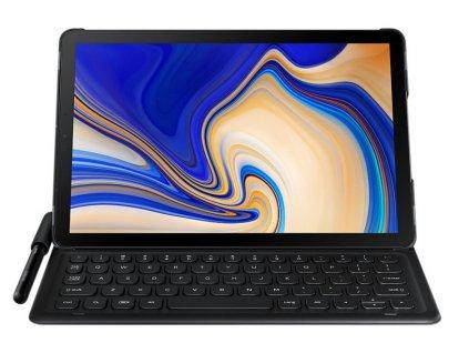 Pouzdro na tablet s klávesnicí Samsung na Tab S4 - černé