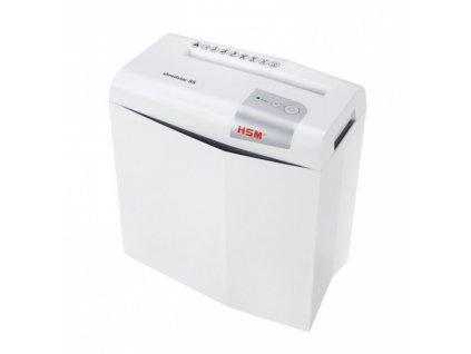 HSM Shredstar S5 6 mm White Skartovací stroj Bílá, stříbrná