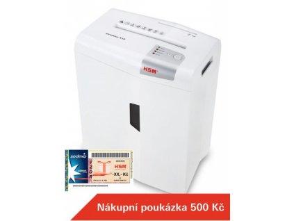 HSM Shredstar X10 4,5x30 mm White Skartovací stroj Bílá, stříbrná