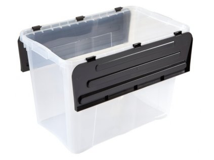 Úložný box Heidrun, 60 l, černý