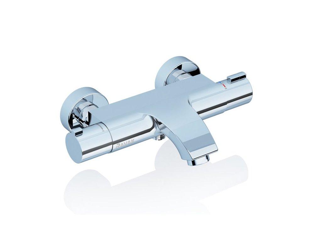 Ravak termostatická vanová nástěnná baterie Termo 200, 150 mm - TE 082.00/150