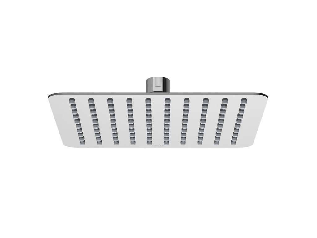 Ravak hlavová čtvercová sprcha Slim Chrome, 200 mm - 982.01