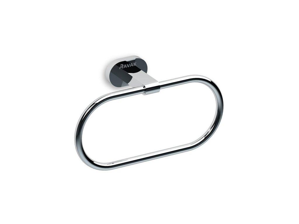 Ravak držák na ručník oválný Chrome - CR 300.00