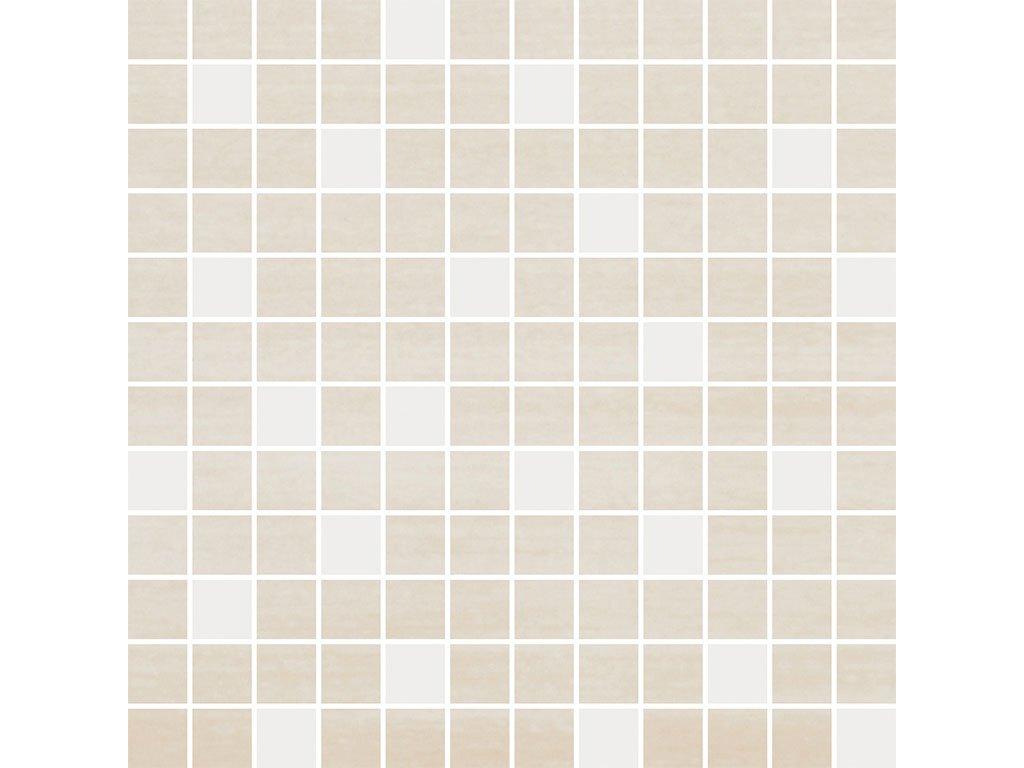 Imagine bila bezova mozaika sq web