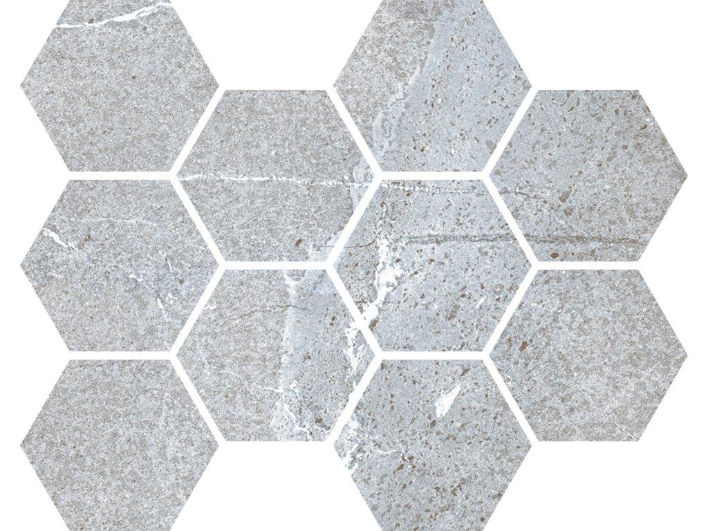 Traveller gris hexagon web