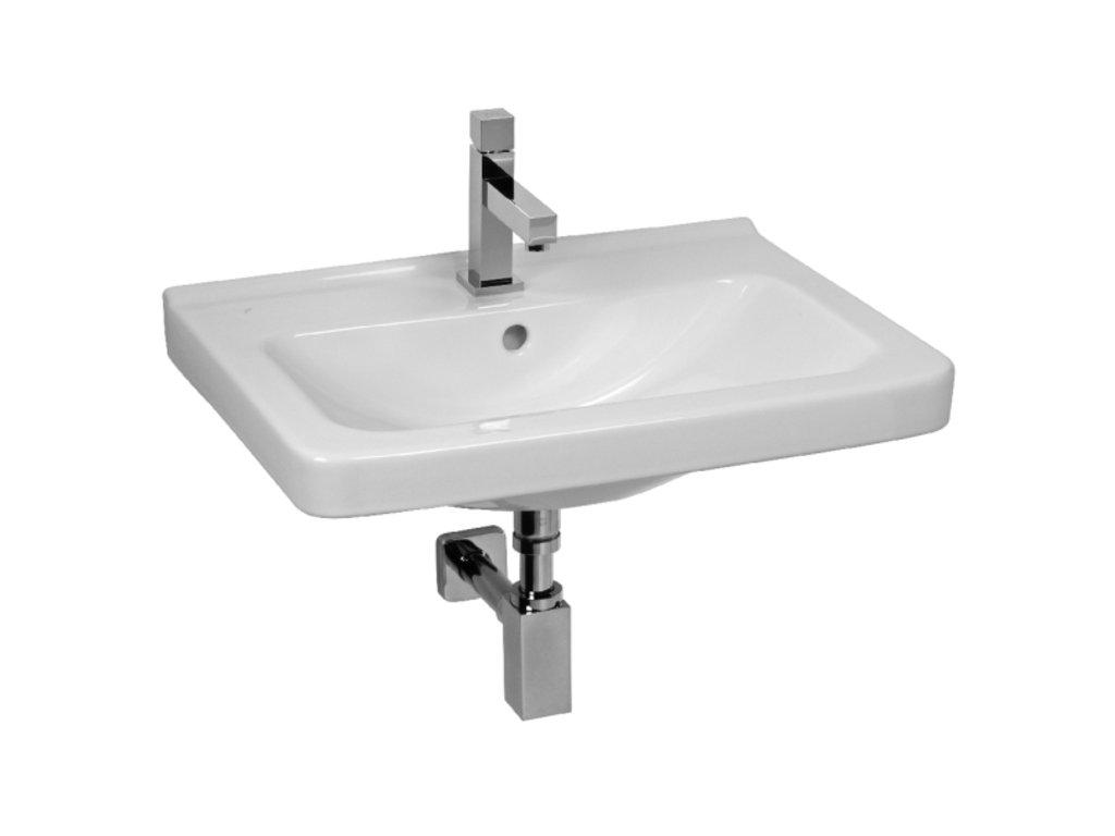 Jika závěsné umývátko Cubito, 45x34 cm, bílá - H8114220001041
