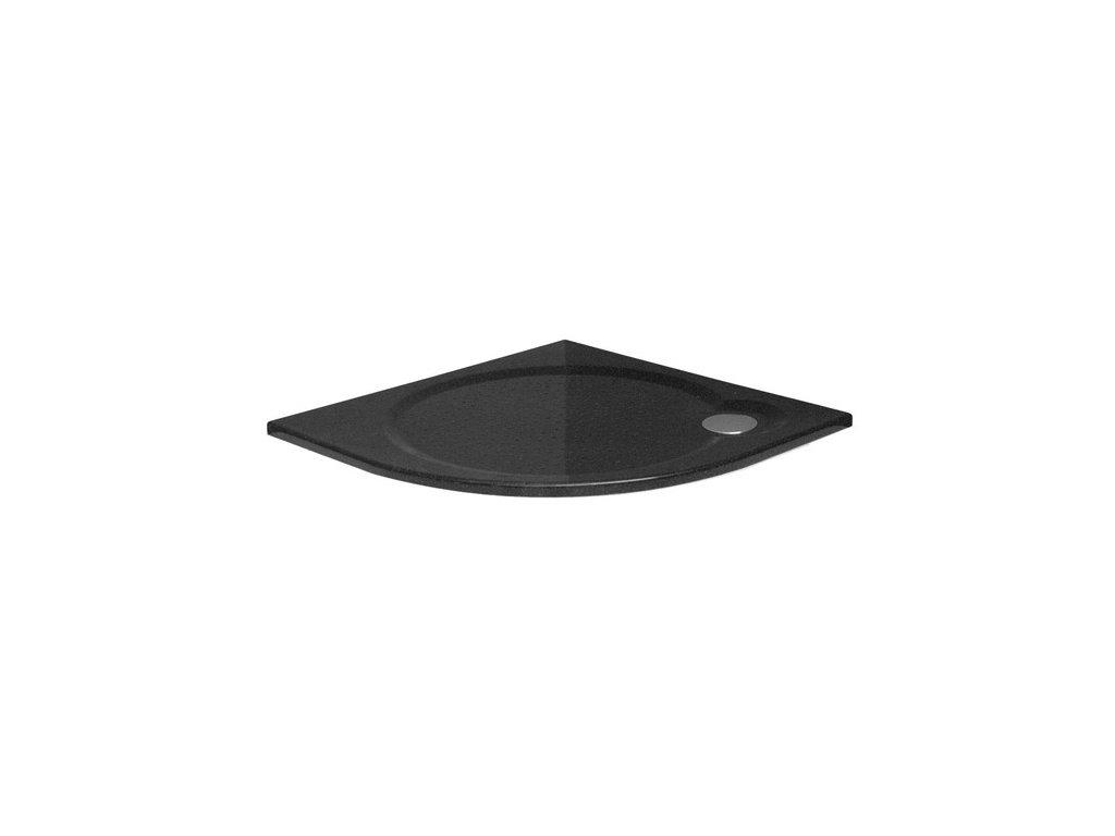 round black l