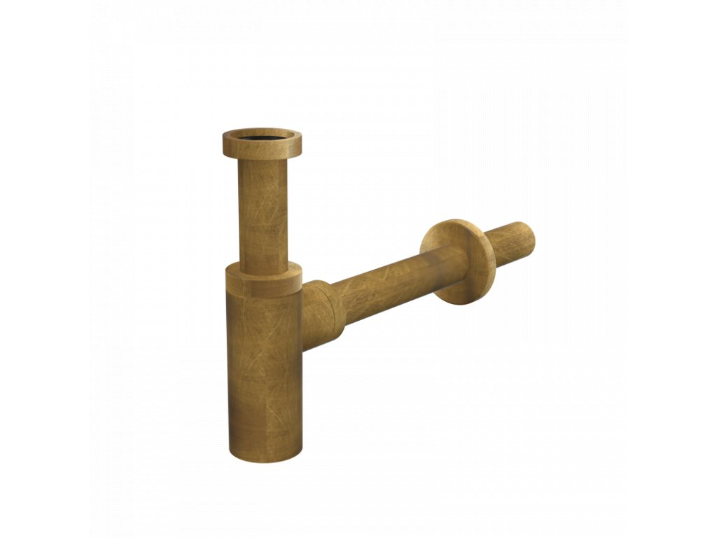 Sifon umyvadlový DN32 DESIGN, bronz-antic - A400ANTIC