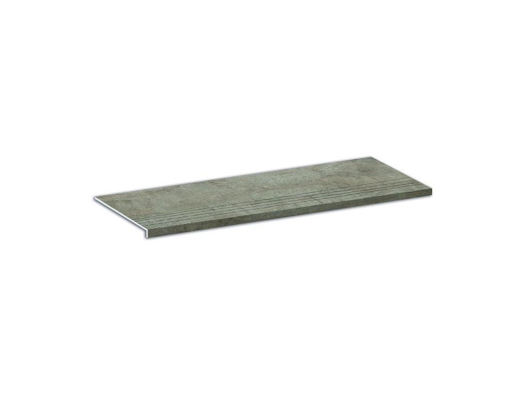 Schodovka Aspen, 24,6x101 cm, royal grey, mat, rektifikovaná