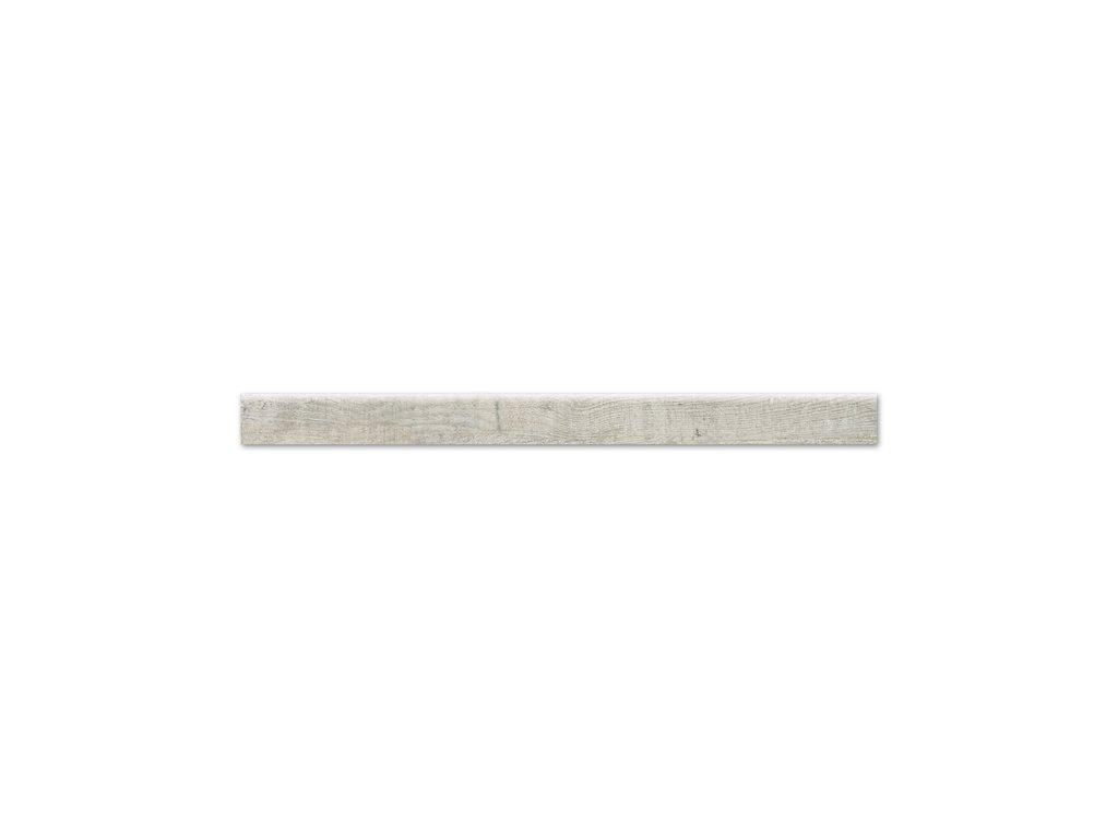 Sokl Aspen, 8x101 cm, silver grey, mat, rektifikovaná