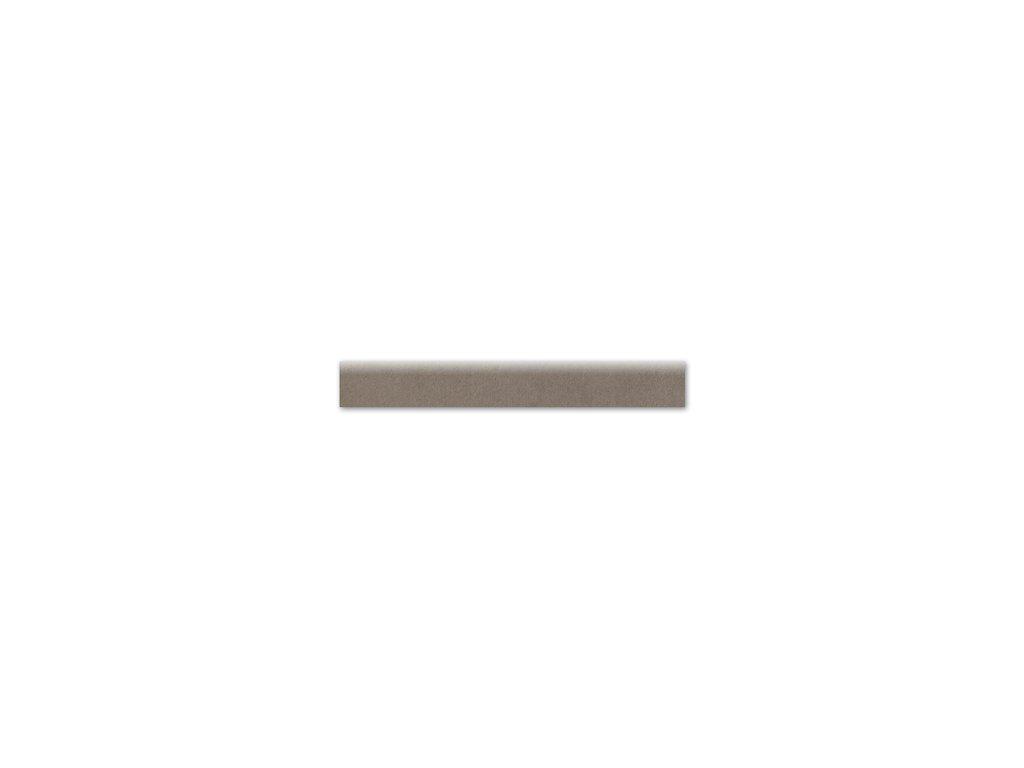 Sokl City, 8x60 cm, marron, rektifikovaná