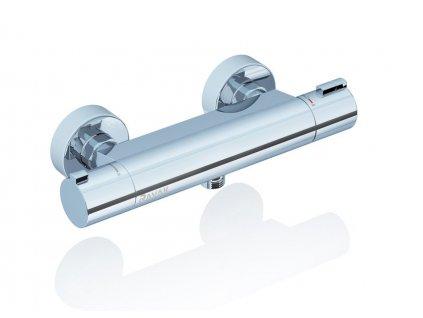 Ravak termostatická sprchová nástěnná baterie Termo 200, 150 mm - TE 072.00/150