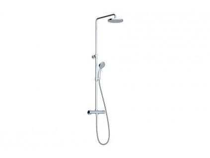 Ravak sprchový sloup Termo 100 s termostatickou baterií a sprchovým setem - TE 091.00/150