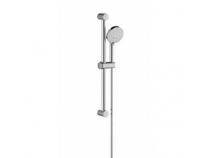 Ravak sprchový set, ruční sprcha Flat M - 3 funkce, tyč 60 cm, sprchová hadice 150 cm - 922.00